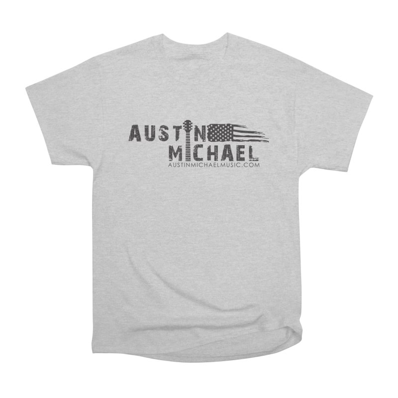 Austin Michael - USA  - for light colors Men's Heavyweight T-Shirt by austinmichaelus's Artist Shop