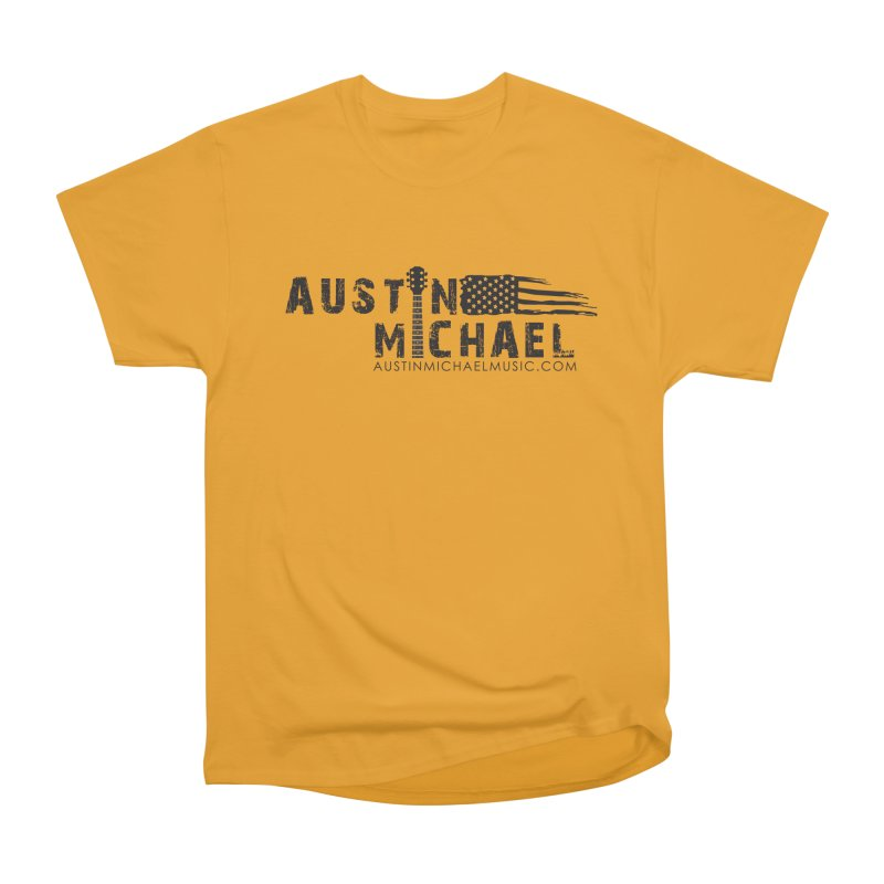 Austin Michael - USA  - for light colors Women's Heavyweight Unisex T-Shirt by austinmichaelus's Artist Shop