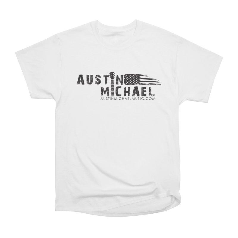 Austin Michael - USA  - for light colors Women's Heavyweight Unisex T-Shirt by austinmichaelus's Artist Shop
