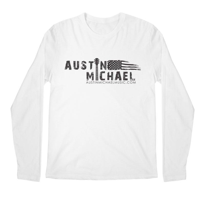 Austin Michael - USA  - for light colors Men's Regular Longsleeve T-Shirt by austinmichaelus's Artist Shop