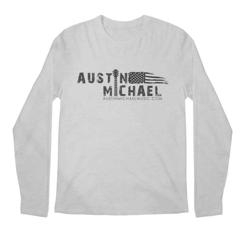 Austin Michael - USA  - for light colors Men's Longsleeve T-Shirt by austinmichaelus's Artist Shop