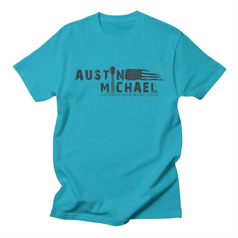 Austin Michael - USA  - for light colors Men's Regular T-Shirt by austinmichaelus's Artist Shop