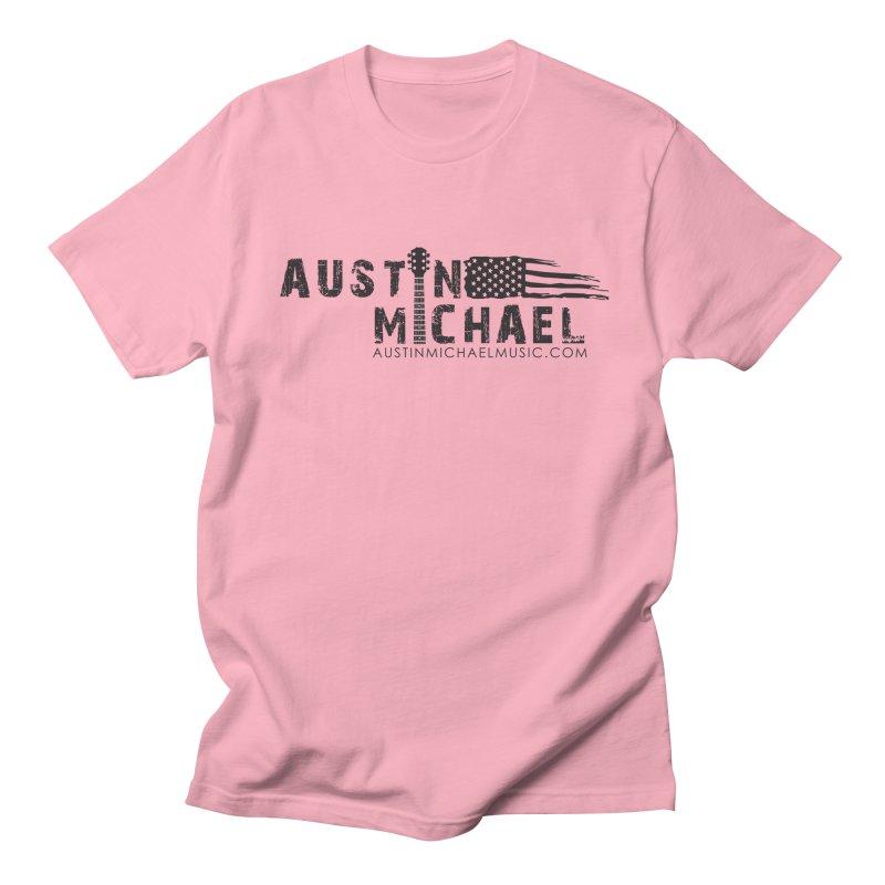 Austin Michael - USA  - for light colors Men's T-Shirt by austinmichaelus's Artist Shop