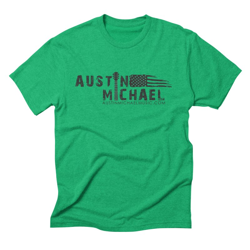 Austin Michael - USA  - for light colors Men's Triblend T-Shirt by austinmichaelus's Artist Shop