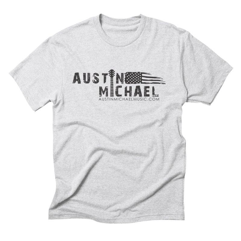 Austin Michael - USA  - for light colors Men's Triblend T-Shirt by austinmichaelus's Artist Shop