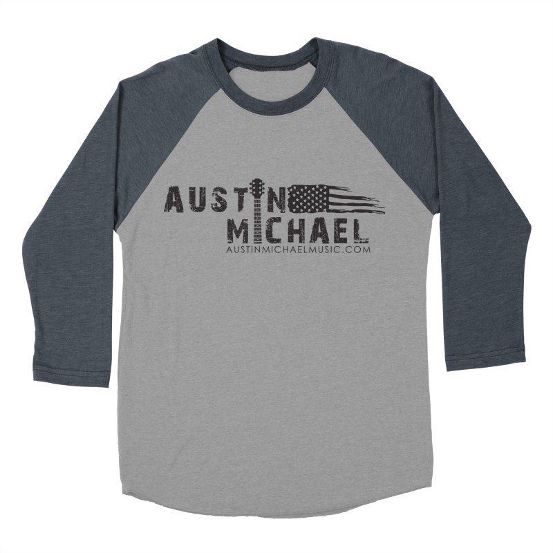 Austin Michael - USA  - for light colors Men's Baseball Triblend Longsleeve T-Shirt by austinmichaelus's Artist Shop