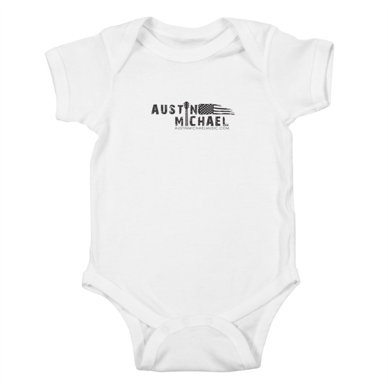 Austin Michael - USA  - for light colors Kids Baby Bodysuit by austinmichaelus's Artist Shop