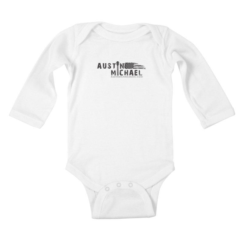 Austin Michael - USA  - for light colors Kids Baby Longsleeve Bodysuit by austinmichaelus's Artist Shop