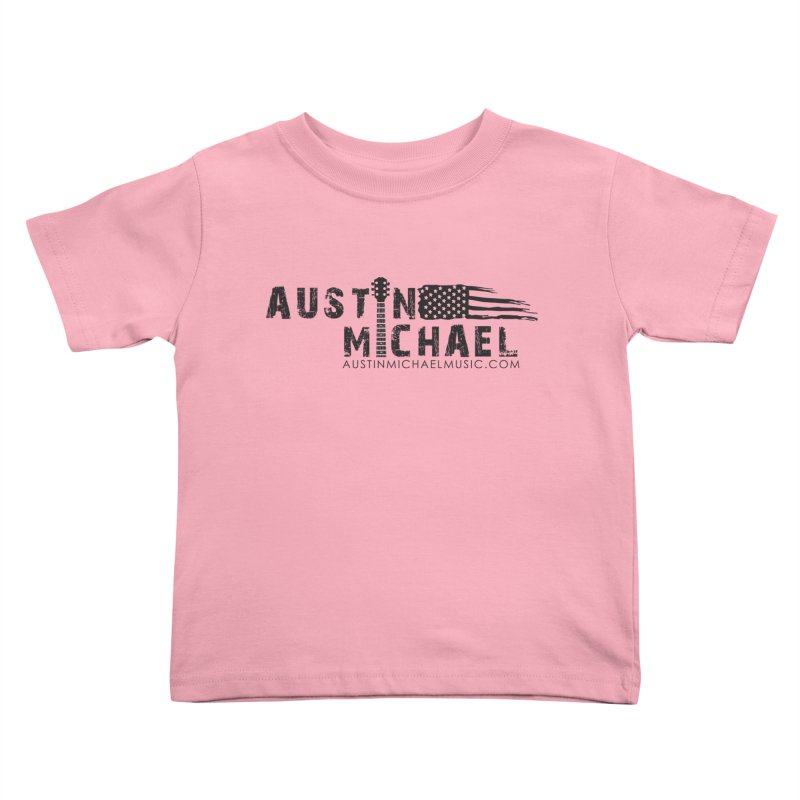 Austin Michael - USA  - for light colors Kids Toddler T-Shirt by austinmichaelus's Artist Shop