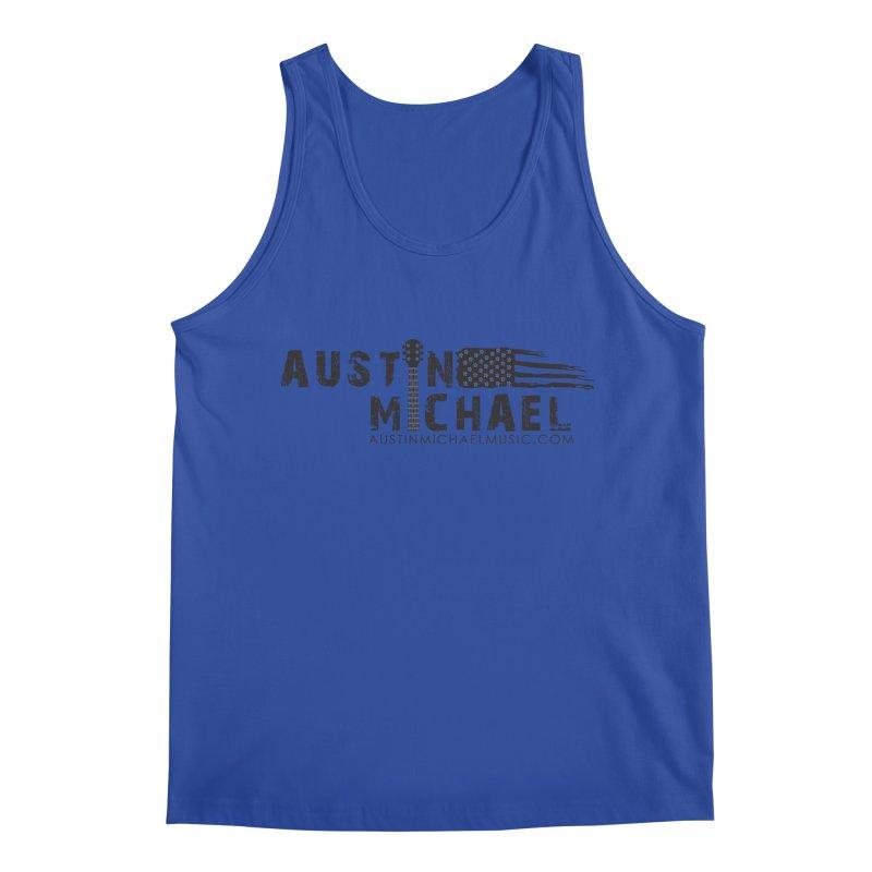 Austin Michael - USA  - for light colors Men's Tank by austinmichaelus's Artist Shop