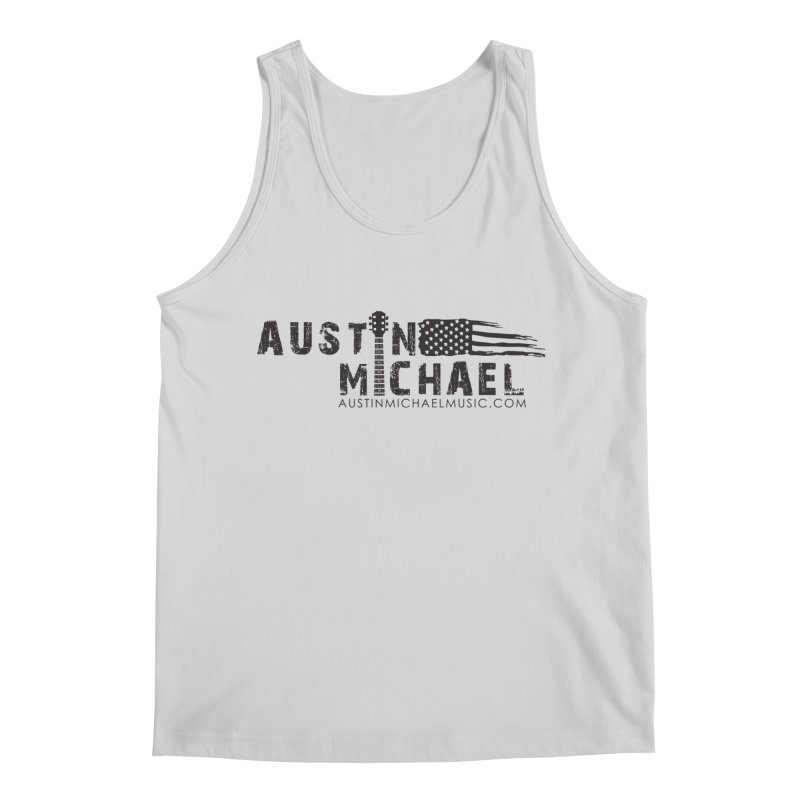 Austin Michael - USA  - for light colors Men's Regular Tank by austinmichaelus's Artist Shop