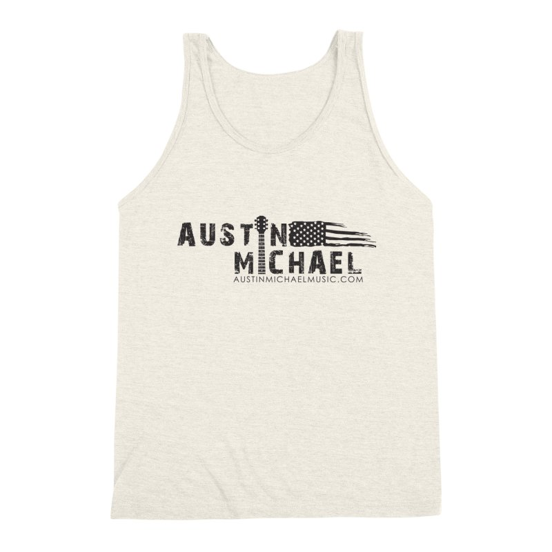Austin Michael - USA  - for light colors Men's Triblend Tank by austinmichaelus's Artist Shop