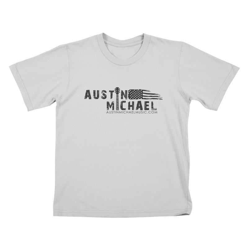 Austin Michael - USA  - for light colors Kids T-Shirt by austinmichaelus's Artist Shop