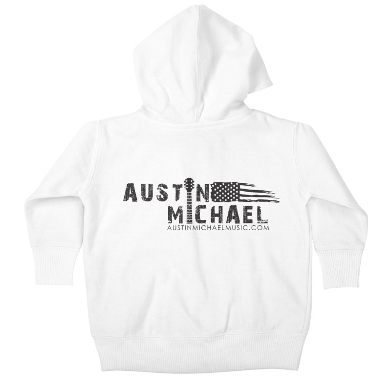 Austin Michael - USA  - for light colors Kids Baby Zip-Up Hoody by austinmichaelus's Artist Shop