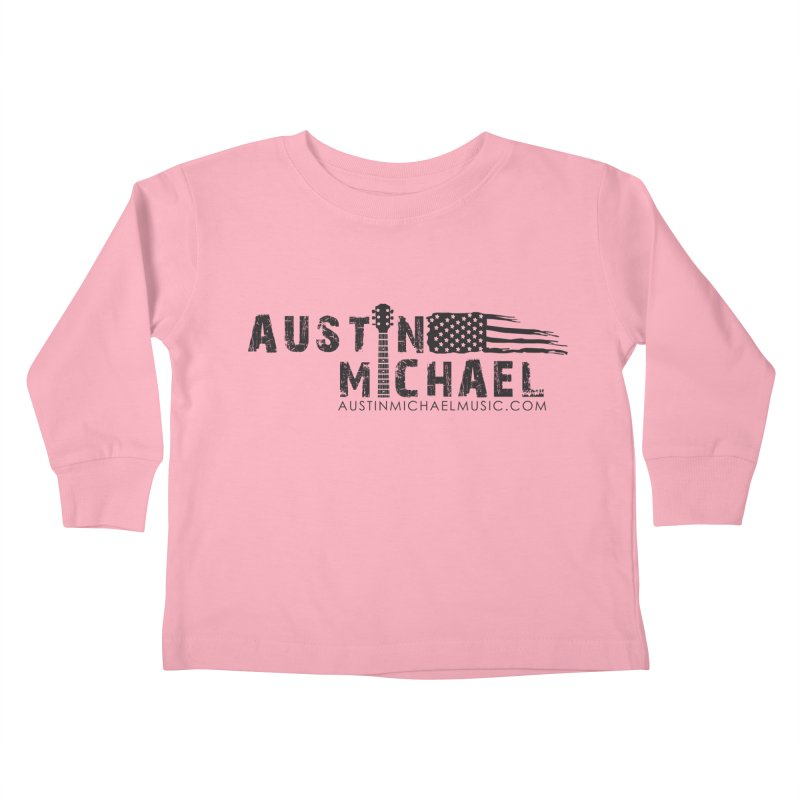 Austin Michael - USA  - for light colors Kids Toddler Longsleeve T-Shirt by austinmichaelus's Artist Shop