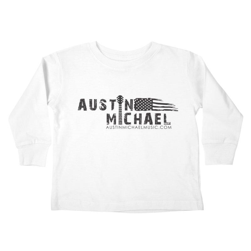 Austin Michael - USA  - for light colors Kids Toddler Longsleeve T-Shirt by austinmichaelus's Artist Shop