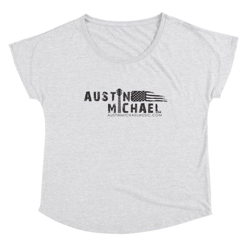 Austin Michael - USA  - for light colors Women's Dolman Scoop Neck by austinmichaelus's Artist Shop