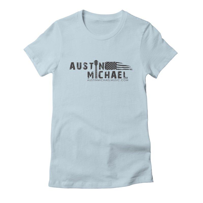 Austin Michael - USA  - for light colors Women's T-Shirt by austinmichaelus's Artist Shop