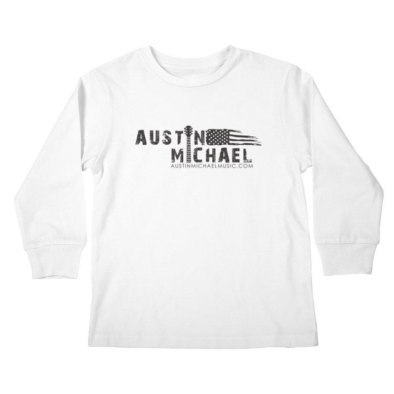 Austin Michael - USA  - for light colors Kids Longsleeve T-Shirt by austinmichaelus's Artist Shop