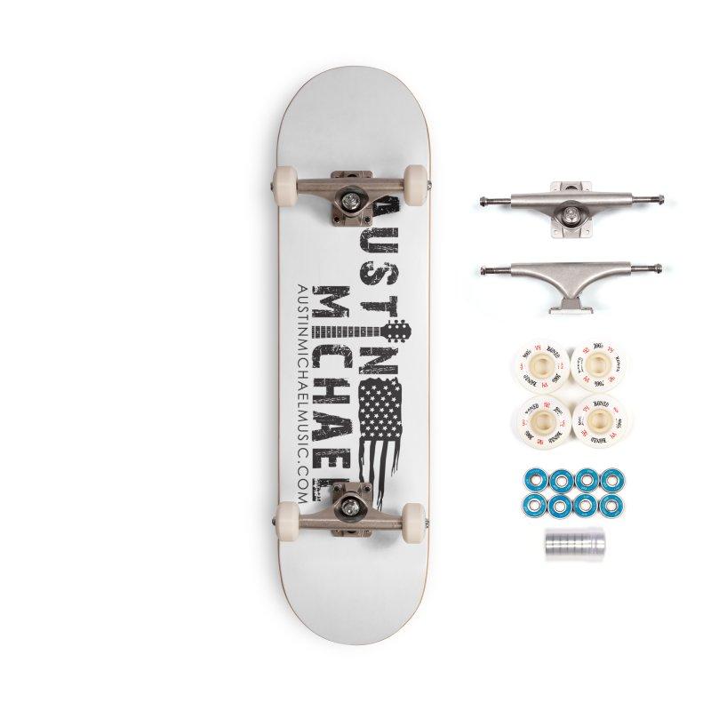 Austin Michael - USA  - for light colors Accessories Complete - Premium Skateboard by austinmichaelus's Artist Shop