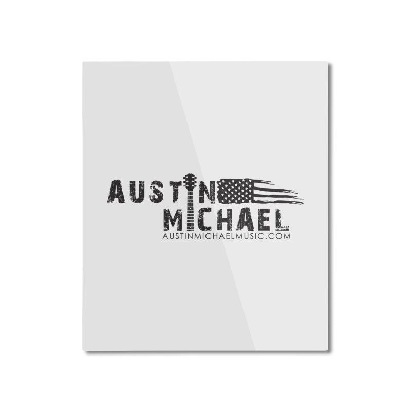 Austin Michael - USA  - for light colors Home Mounted Aluminum Print by austinmichaelus's Artist Shop