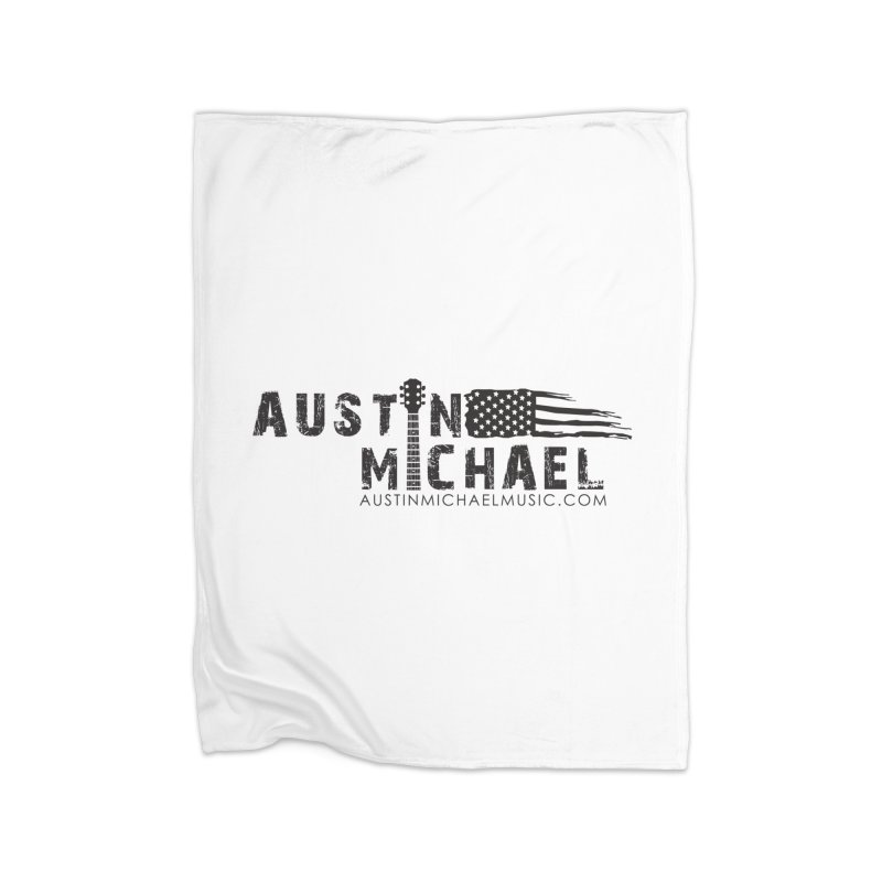 Austin Michael - USA  - for light colors Home Fleece Blanket Blanket by austinmichaelus's Artist Shop