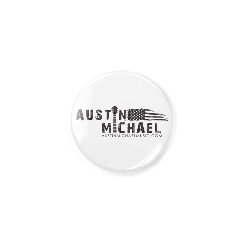 Austin Michael - USA  - for light colors Accessories Button by austinmichaelus's Artist Shop