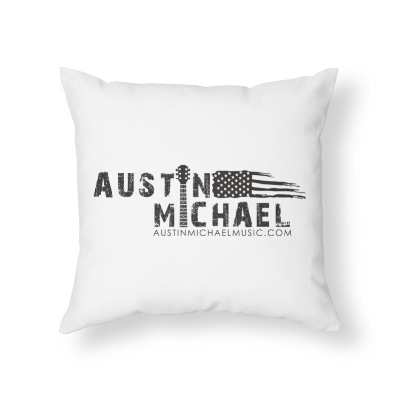 Austin Michael - USA  - for light colors Home Throw Pillow by austinmichaelus's Artist Shop