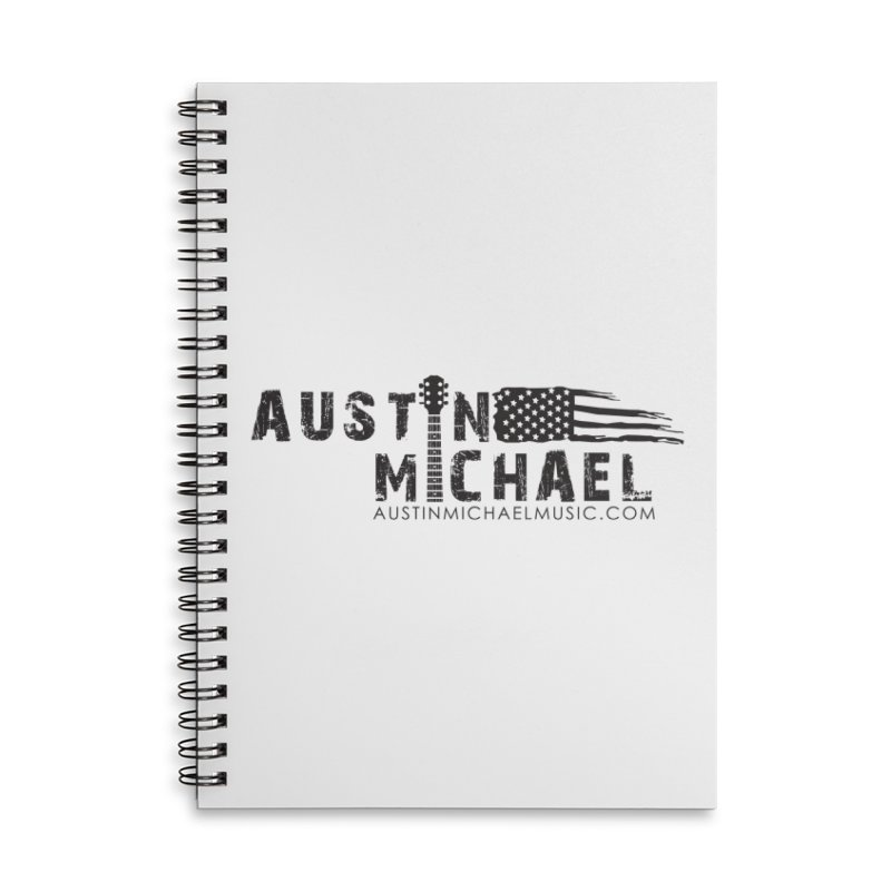 Austin Michael - USA  - for light colors Accessories Lined Spiral Notebook by austinmichaelus's Artist Shop