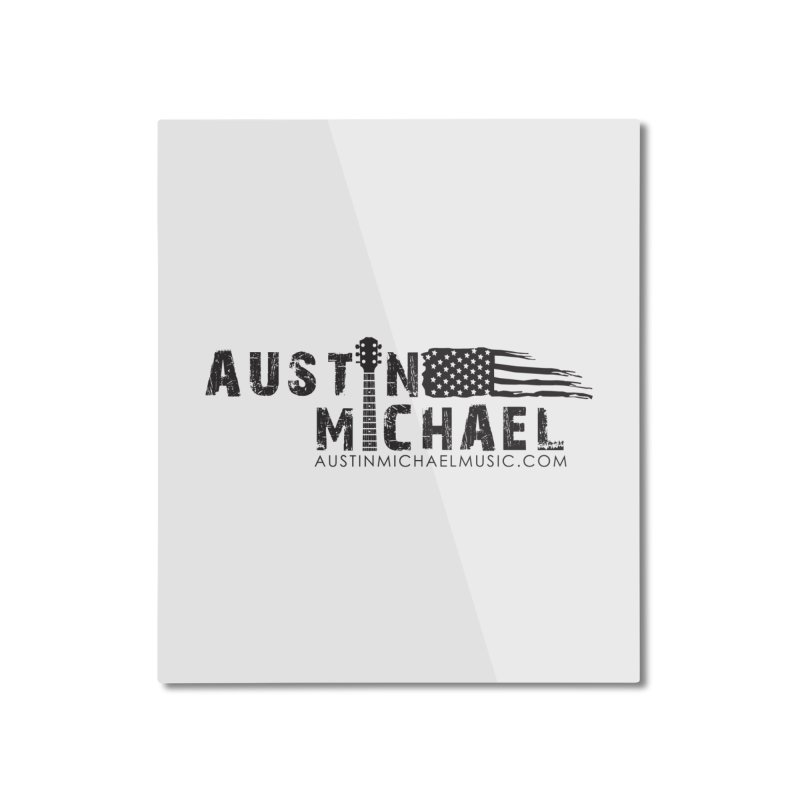 Austin Michael - USA  - for light colors Home Mounted Aluminum Print by austinmichaelus's Artist Shop