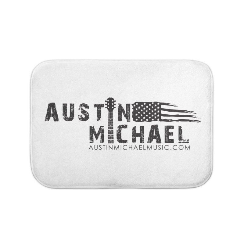 Austin Michael - USA  - for light colors Home Bath Mat by austinmichaelus's Artist Shop