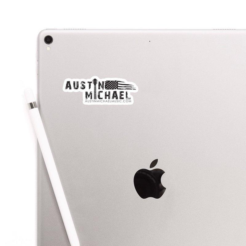 Austin Michael - USA  - for light colors Accessories Sticker by austinmichaelus's Artist Shop