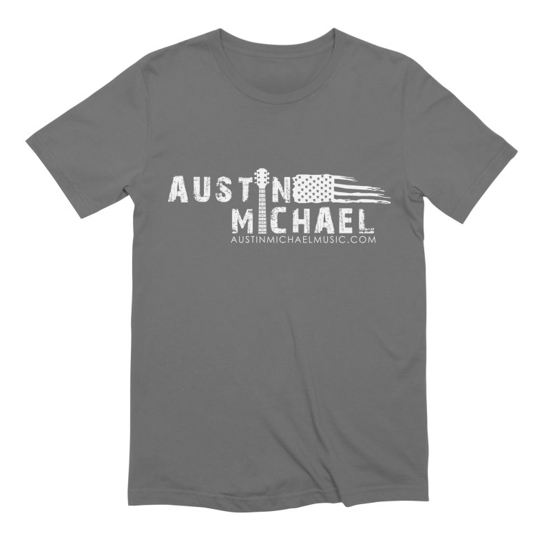 Austin Michael - USA  - for dark colors Men's T-Shirt by austinmichaelus's Artist Shop