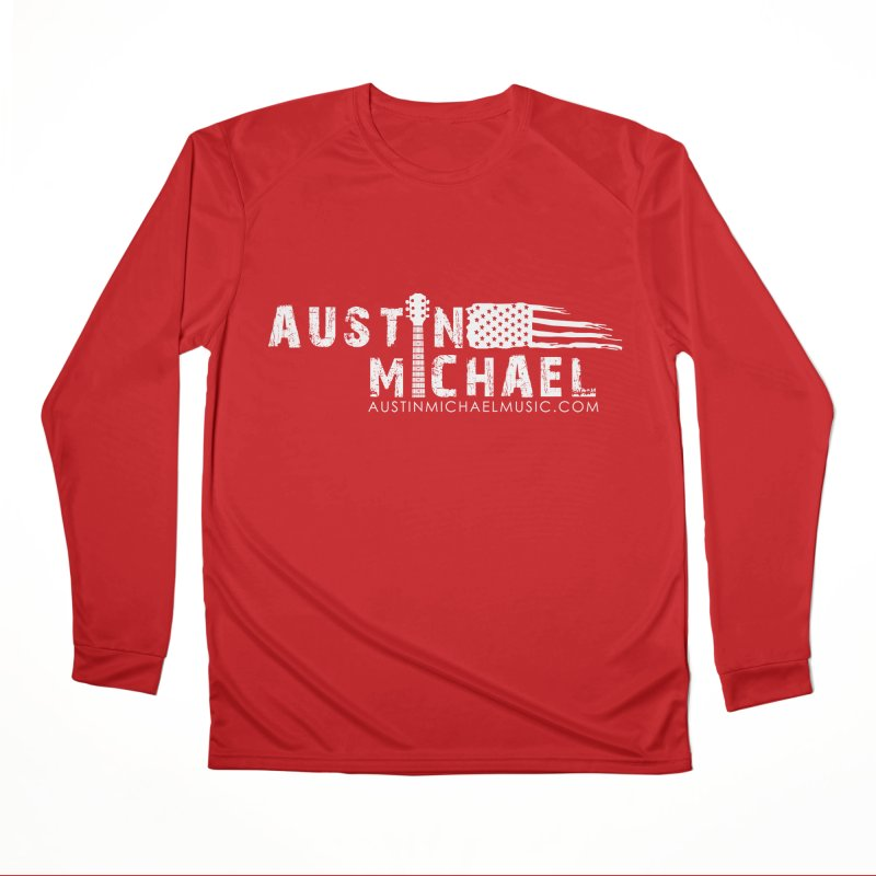 Austin Michael - USA  - for dark colors Men's Longsleeve T-Shirt by austinmichaelus's Artist Shop