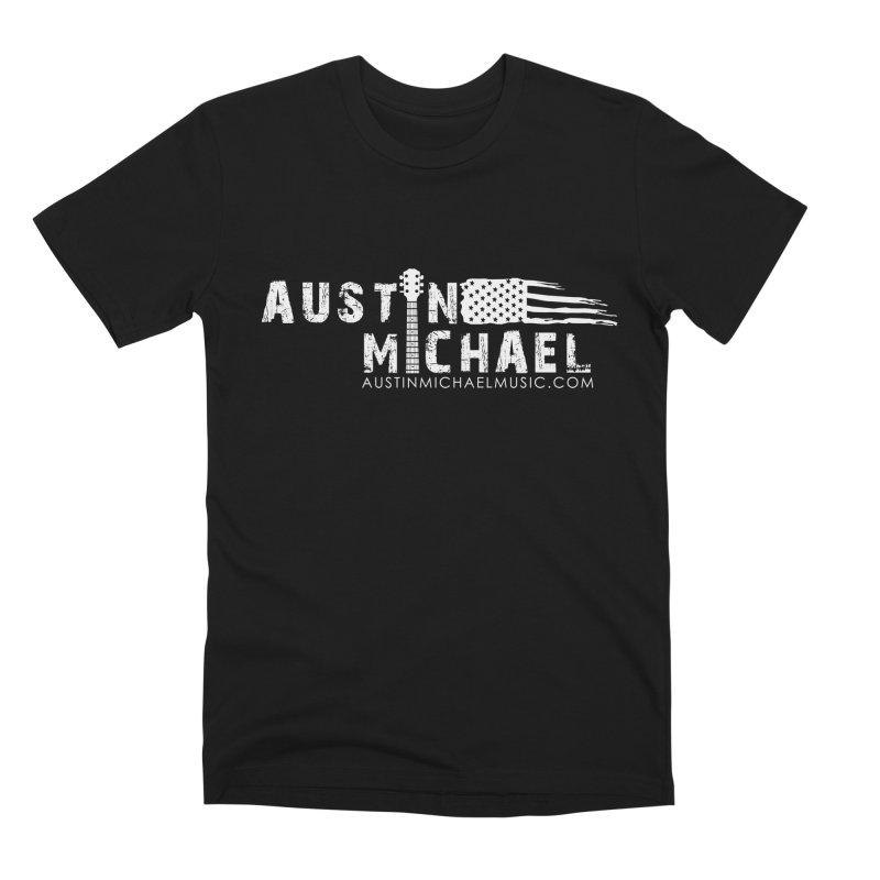 Austin Michael - USA  - for dark colors Men's Premium T-Shirt by austinmichaelus's Artist Shop