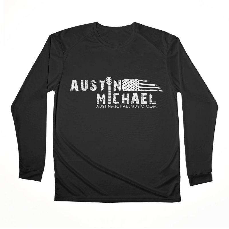 Austin Michael - USA  - for dark colors Women's Longsleeve T-Shirt by austinmichaelus's Artist Shop