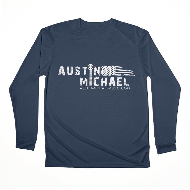 Austin Michael - USA  - for dark colors Women's Performance Unisex Longsleeve T-Shirt by austinmichaelus's Artist Shop