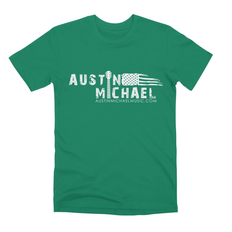 Austin Michael - USA  - for dark colors Men's Premium T-Shirt by austinmichaelus's Artist Shop