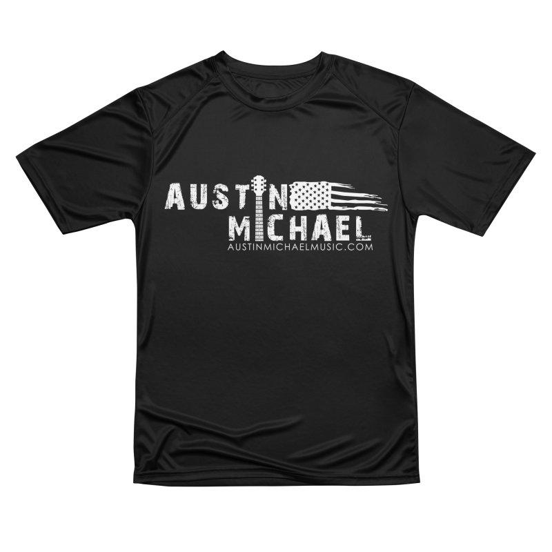 Austin Michael - USA  - for dark colors Women's Performance Unisex T-Shirt by austinmichaelus's Artist Shop