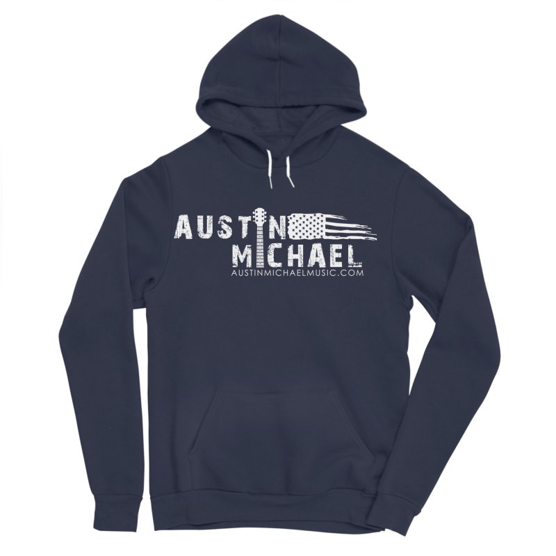 Austin Michael - USA  - for dark colors Men's Sponge Fleece Pullover Hoody by austinmichaelus's Artist Shop