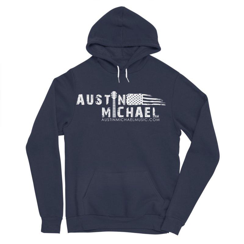 Austin Michael - USA  - for dark colors Women's Sponge Fleece Pullover Hoody by austinmichaelus's Artist Shop