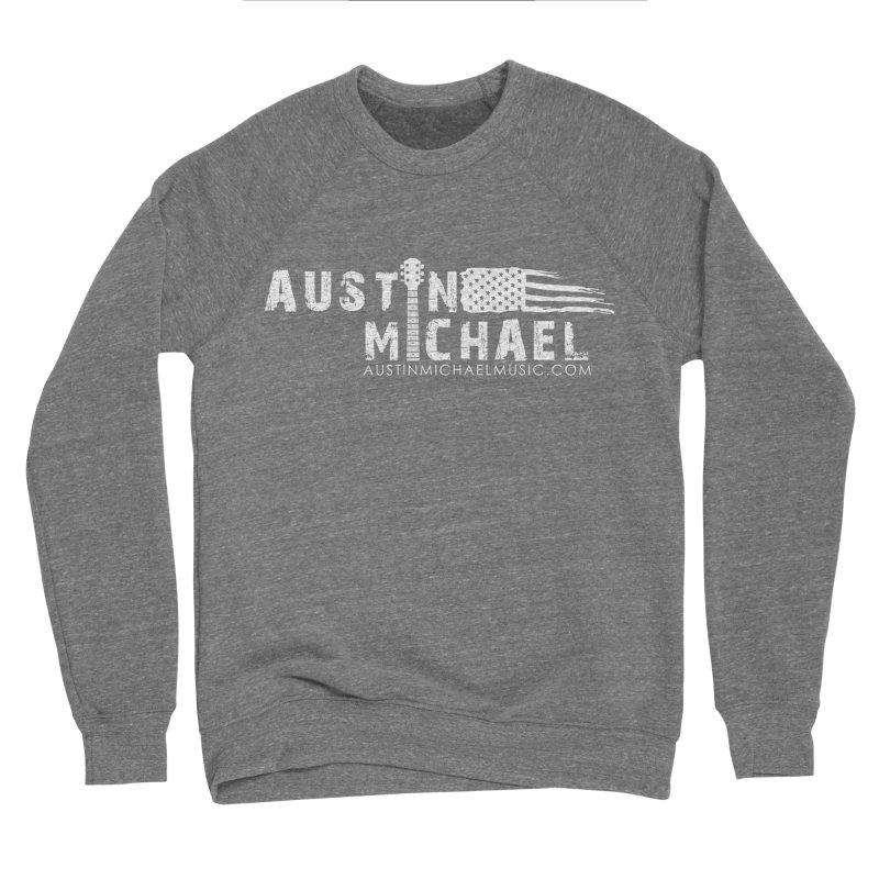 Austin Michael - USA  - for dark colors Men's Sponge Fleece Sweatshirt by austinmichaelus's Artist Shop