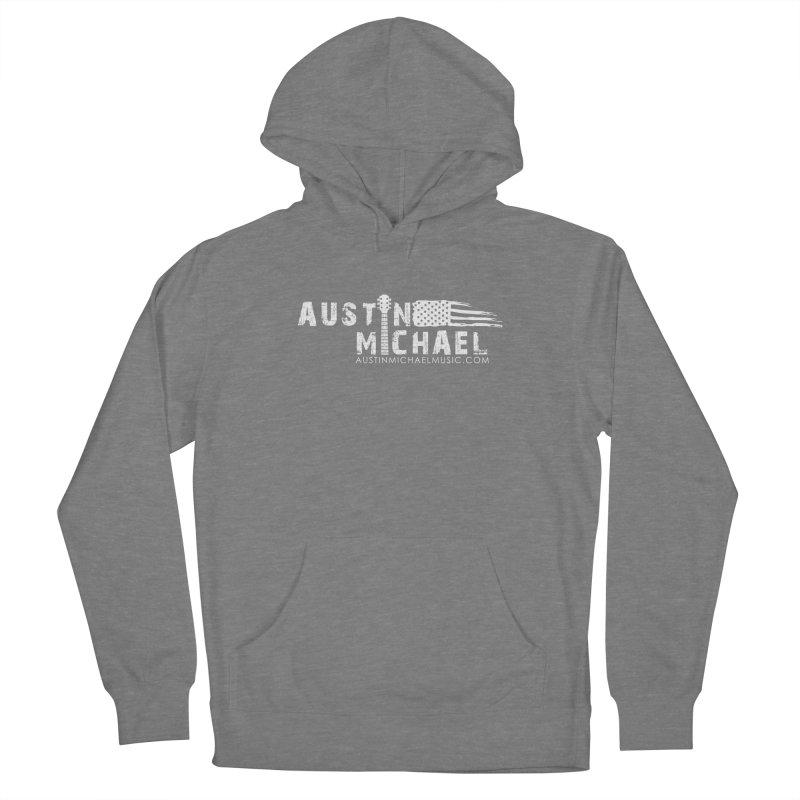 Austin Michael - USA  - for dark colors Women's Pullover Hoody by austinmichaelus's Artist Shop