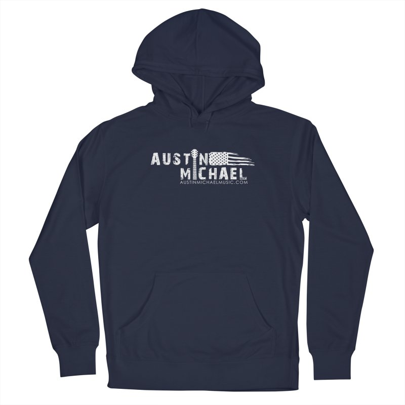 Austin Michael - USA  - for dark colors Women's French Terry Pullover Hoody by austinmichaelus's Artist Shop