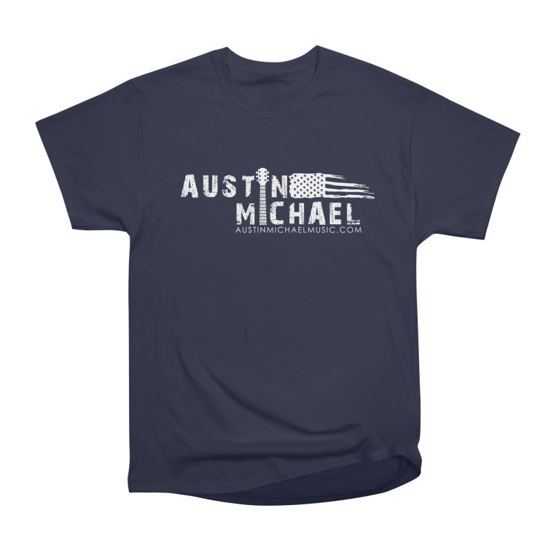 Austin Michael - USA  - for dark colors Women's Heavyweight Unisex T-Shirt by austinmichaelus's Artist Shop