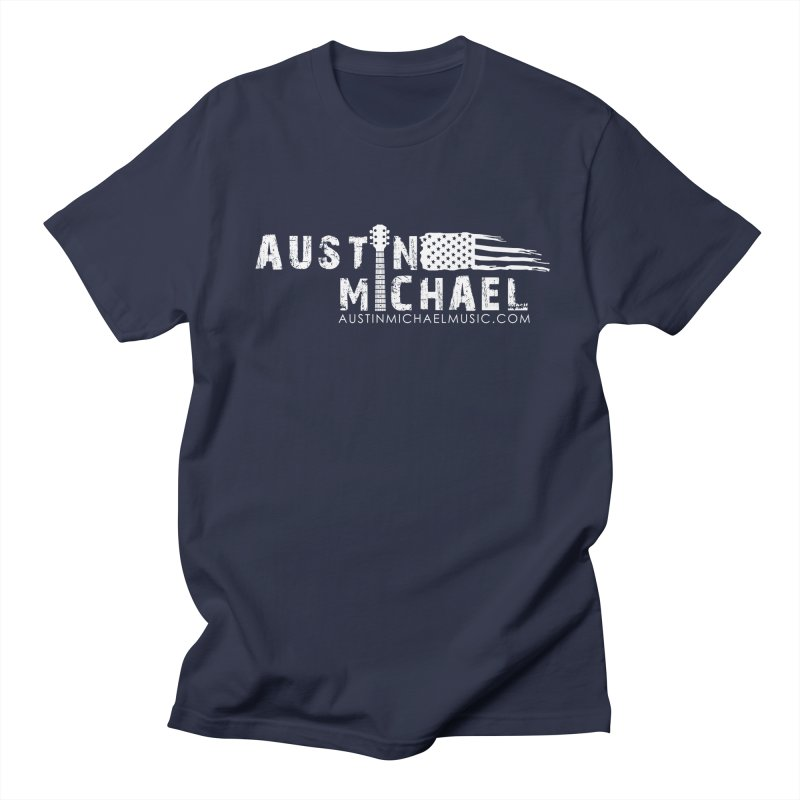 Austin Michael - USA  - for dark colors Women's Regular Unisex T-Shirt by austinmichaelus's Artist Shop