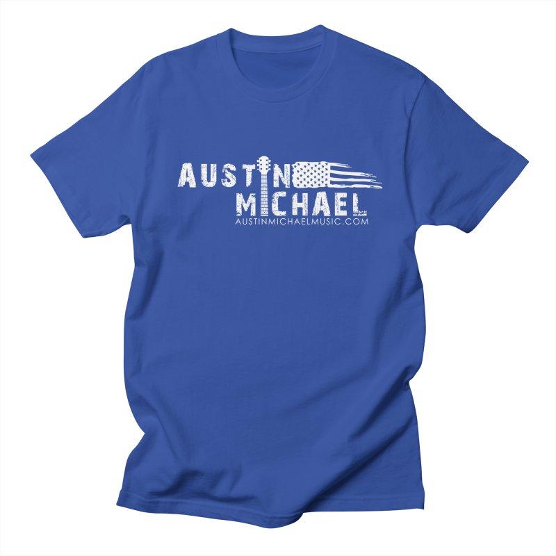 Austin Michael - USA  - for dark colors Men's T-Shirt by austinmichaelus's Artist Shop