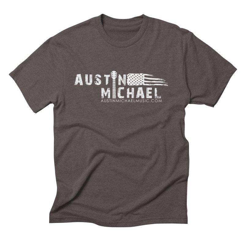 Austin Michael - USA  - for dark colors Men's Triblend T-Shirt by austinmichaelus's Artist Shop