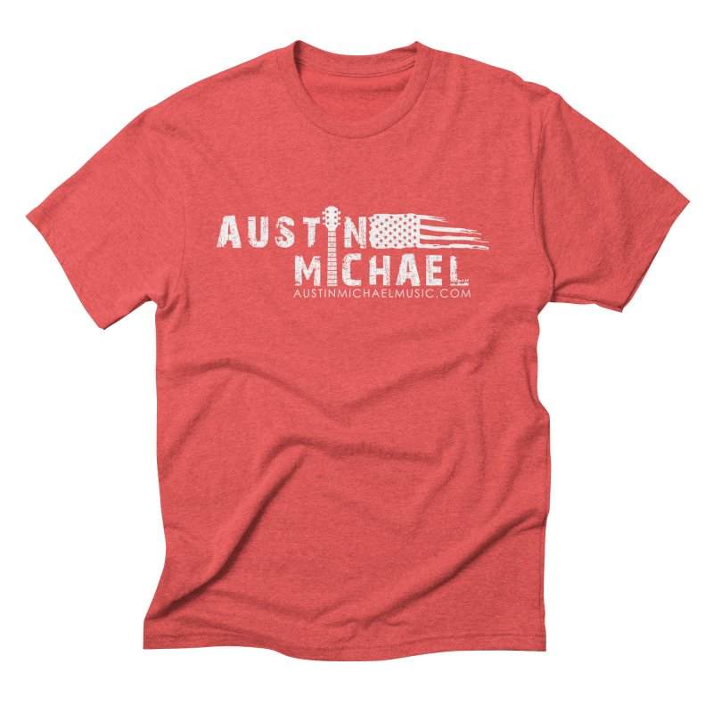 Austin Michael - USA  - for dark colors Men's Triblend T-Shirt by austinmichaelus's Artist Shop