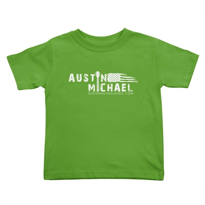Austin Michael - USA  - for dark colors Kids Toddler T-Shirt by austinmichaelus's Artist Shop